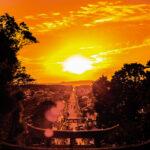 宮地嶽神社の光の道